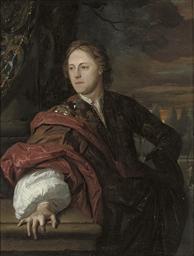 Portrait of a man, three-quart