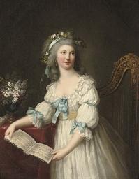 Portrait of Marie-Françoise Du