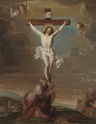 The Crucifixion with Saint Mar