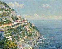 On the Amalfi coast near Positano