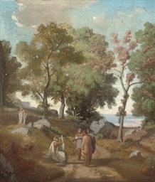 Study for Homère et les berger