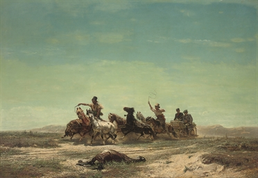 Racing over the steppe