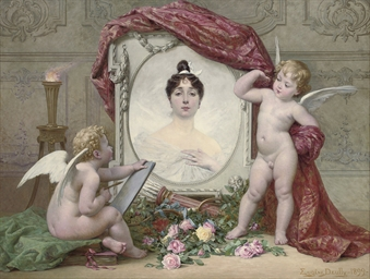 An allegory of the arts