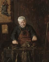 A cobbler at work