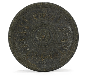AN ITALIAN BRONZE TAZZA