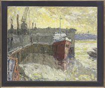 Greenwich dock; and Low tide, Greenwich