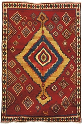 A unusual Gabbeh carpet