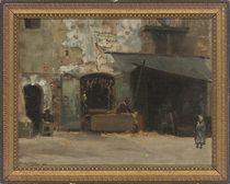 The letter writer, Naples
