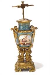A GILT-METAL-MOUNTED SEVRES-ST
