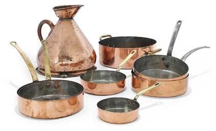 A COLLECTION OF FRENCH COPPER