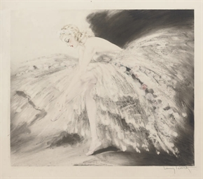 LOUIS ICART 'FAIR DANCER'