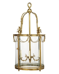 AN ITALIAN ORMOLU FOUR-LIGHT H