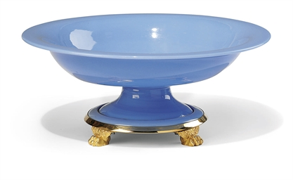 A RUSSIAN ORMOLU-MOUNTED BLUE