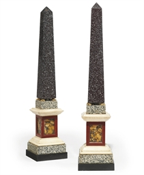 A PAIR OF ORMOLU-MOUNTED, PORP