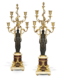 A PAIR OF LATE LOUIS XVI ORMOL