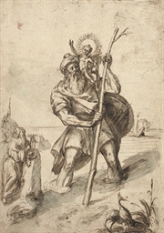 Saint Christopher and the Chri