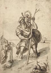 Saint Christopher and the Chri