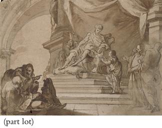 Joseph interpreting Pharaoh's