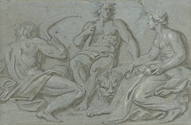Hercules with Saturn and Ceres