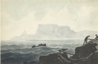 A view of Cape Town, South Afr
