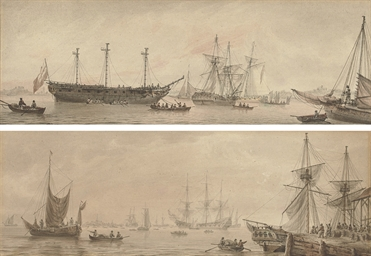 Shipping in the Lower Thames