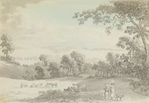 Three views of Gisburne Park, from Elenthorp