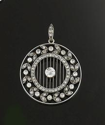 An Edwardian diamond Pendant