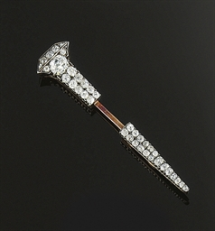 A late 19th century diamond ja