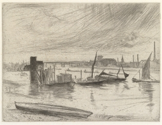 Early Morning, Battersea (Kenn