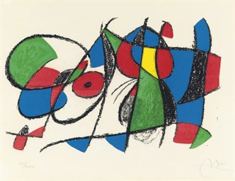 Joan Miró Lithographe II: one