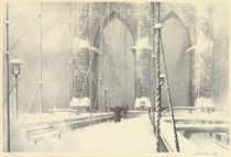 Brooklyn Bridge in Winter (Stuckey 255)