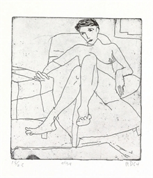 #34, from 41 Etchings Drypoint