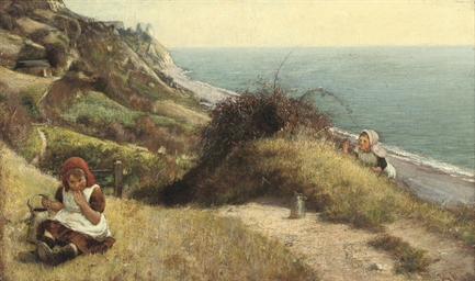 Blackberry picking, Branscombe