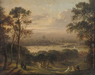 London from Greenwich