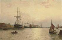 Timber ships off Yarmouth