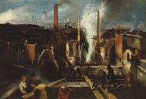 The burning of the Anchor Brewery, 1832