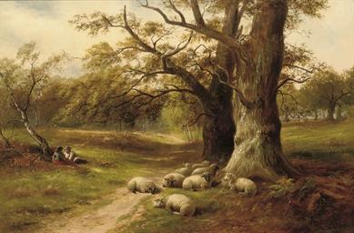 A distracted shepherd
