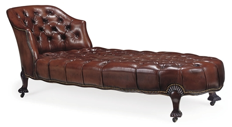 AN EDWARDIAN MAHOGANY DAYBED