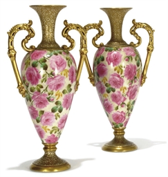A PAIR OF LIMOGES (RAYNAUD) TW