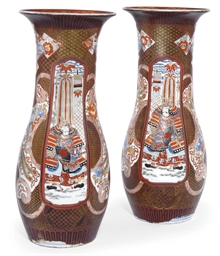 A PAIR OF JAPANESE LACQUER DEC