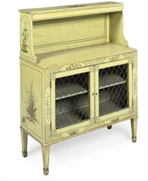 A SMALL REGENCY CHIFFONIERE