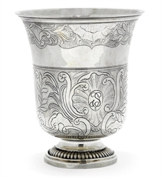 A FRENCH PROVINCIAL SILVER BEA