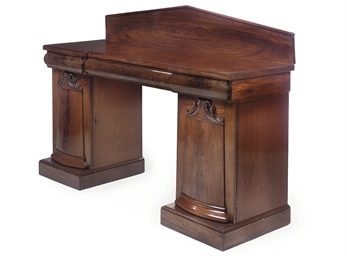 A SCOTTISH VICTORIAN MAHOGANY