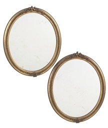 A PAIR OF LATE VICTORIAN OVAL