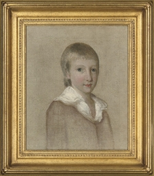 Portrait of a boy, three-quart