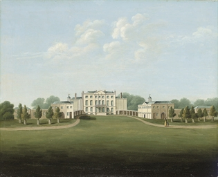 View of Livermere Hall, Suffol