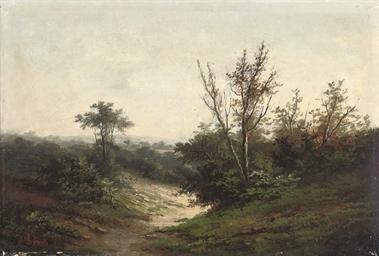 Pastoral landscape; and A coun