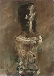 Portrait of a lady, half-lengt