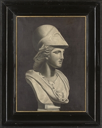 A bust of Athena