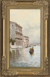 On the Grand Canal, Venice; an